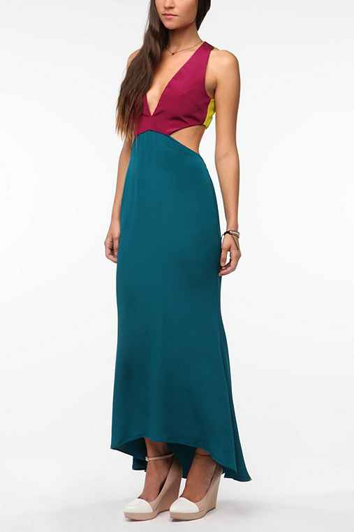 Naven Three Tone Vixen Maxi Dress