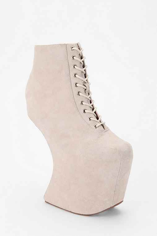 Jeffrey Campbell Over Here Platform Lace-Up Boot
