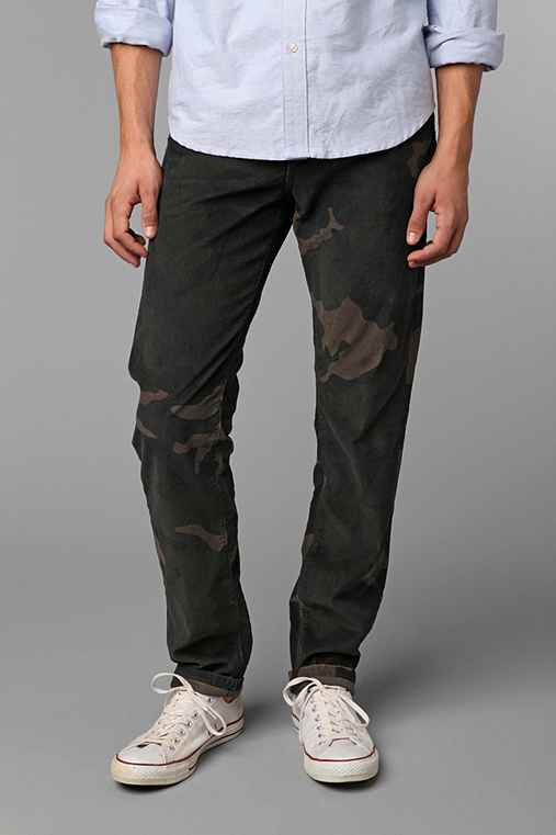 Standard Cloth 5-Pocket Camo Corduroy Pant