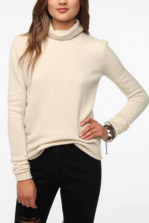 Sparkle & Fade Slouchy Turtleneck Sweater