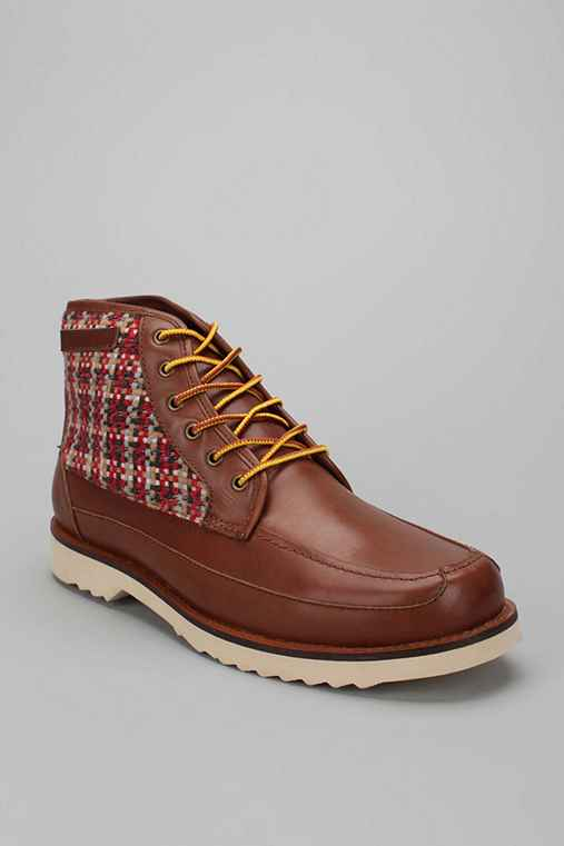 Stapleford Woven Moc Toe Boot