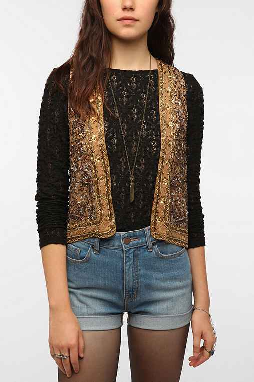 Thistlepearl Beaded Vest