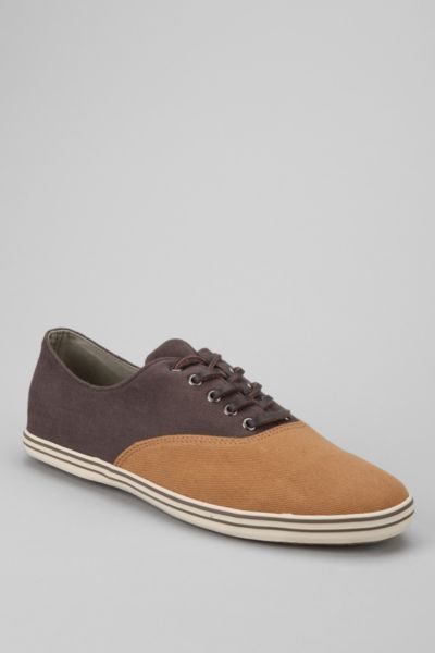 Josef Waxed Plimsoll Shoe