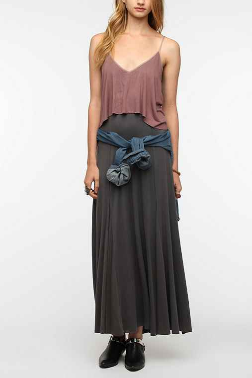 Ecote Sand Art Maxi Dress - Urban Outfitters