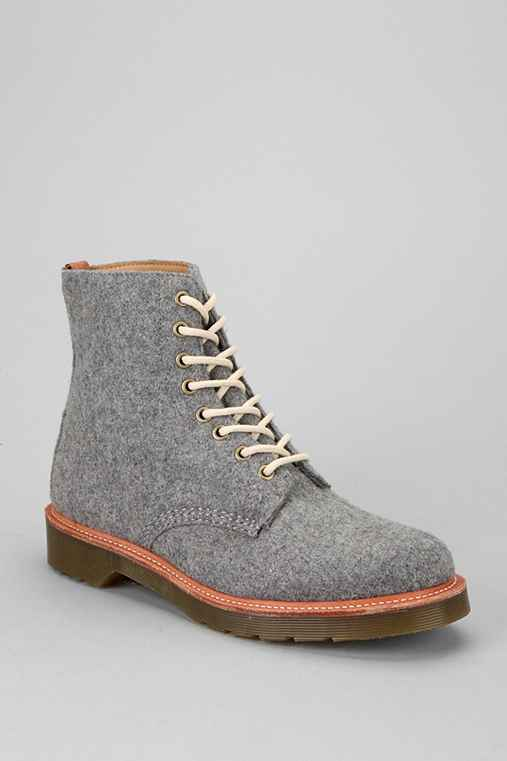 Dr. Martens Beckett 8-Eye Wool Boot