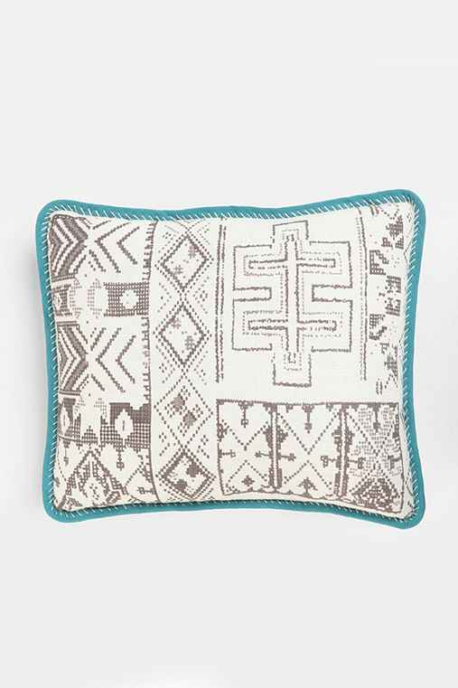 Magical Thinking Geo Stitch Pillow
