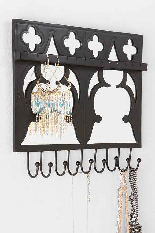 Magical Thinking Mirrored Jewelry Holder Wall Hook