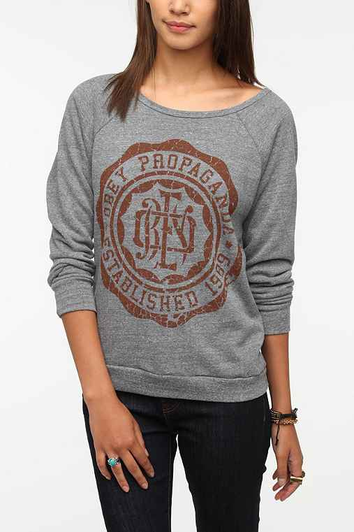 OBEY College Crest Sweatshirt