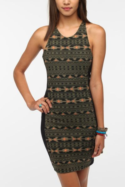 OBEY Illusions Bodycon Dress