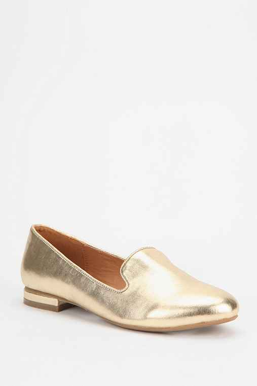 Deena & Ozzy Metallic Loafer