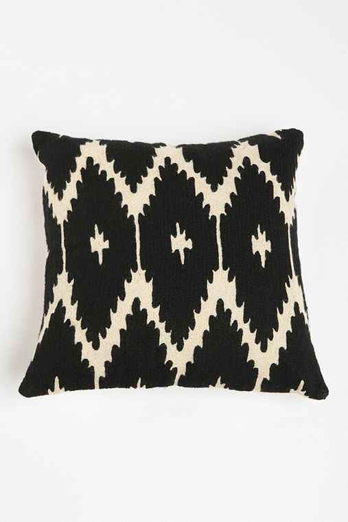 Magical Thinking Crewel Ikat Pillow