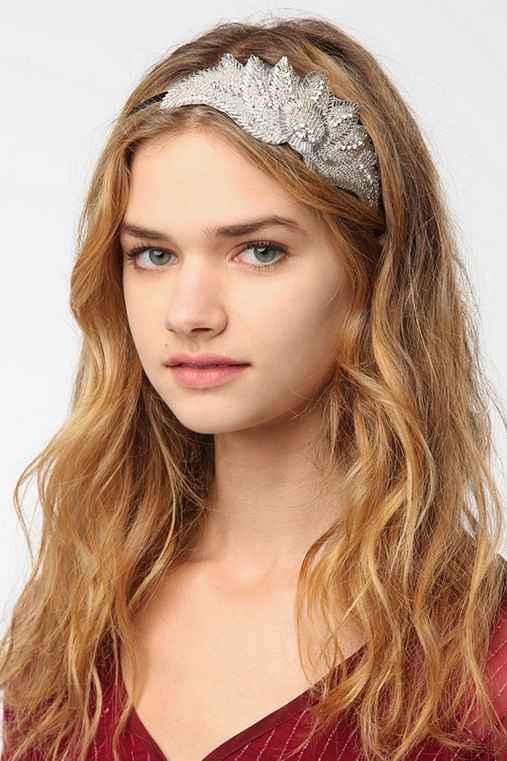 Rhinestone Applique Headband