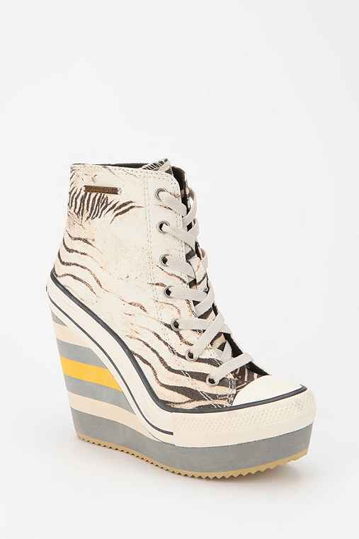 Rock & Candy by Zigi Zebra Wedge-Sneaker