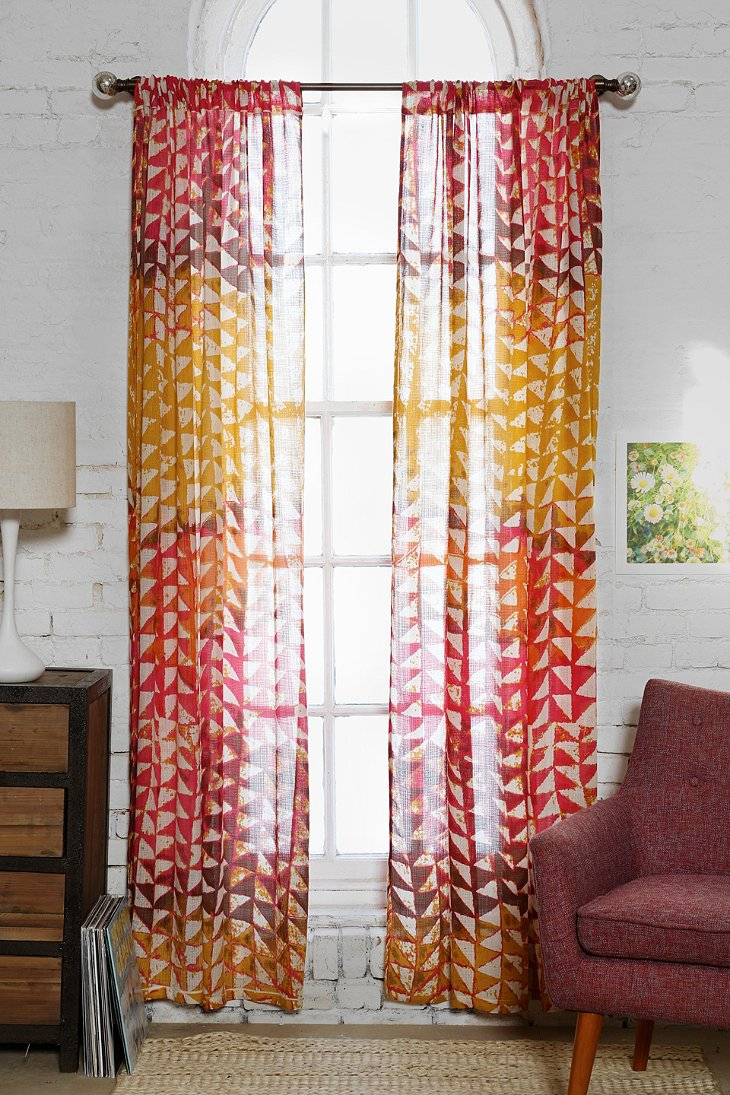 Magical Thinking Swaying Triangle Curtain Urban Outfitters