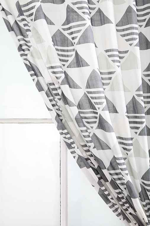 Assembly Home Triangle-Stripe Curtain