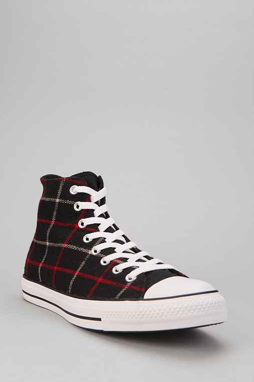 Converse Chuck Taylor All Star Plaid High-Top Sneaker