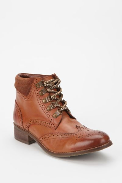 BDG Brogue Hiker Ankle Boot