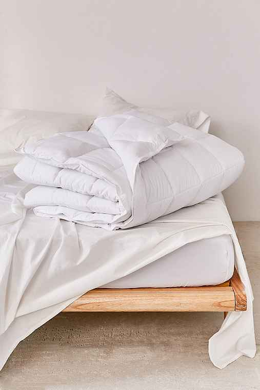Heavyweight Down Alternative Duvet Insert,WHITE,FULL