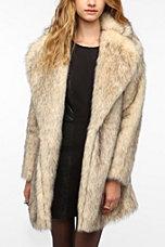 MINKPINK Cruella Faux Fur Coat