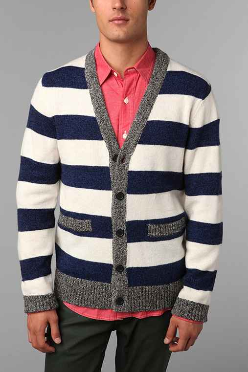 Hawkings McGill Speckled Stripe Cardigan
