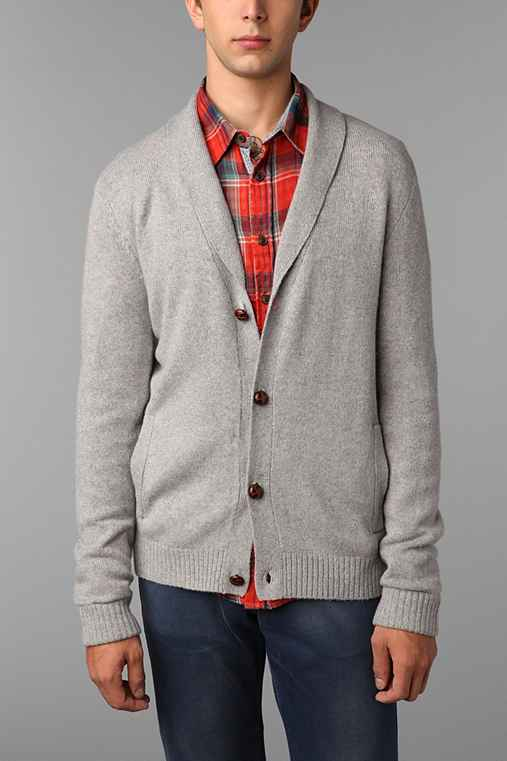 Hawkings McGill Shawl Button Cardigan