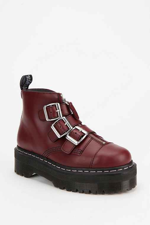 Agyness Deyn For Dr. Martens Ankle Boot