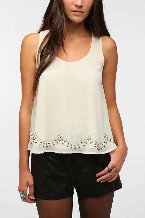 --Staring at Stars Jewelbox Tank Top