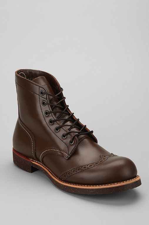 "Red Wing 6"" Brogue Ranger Boot"