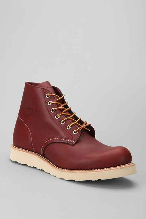 "Red Wing 6"" Round Toe Boot"