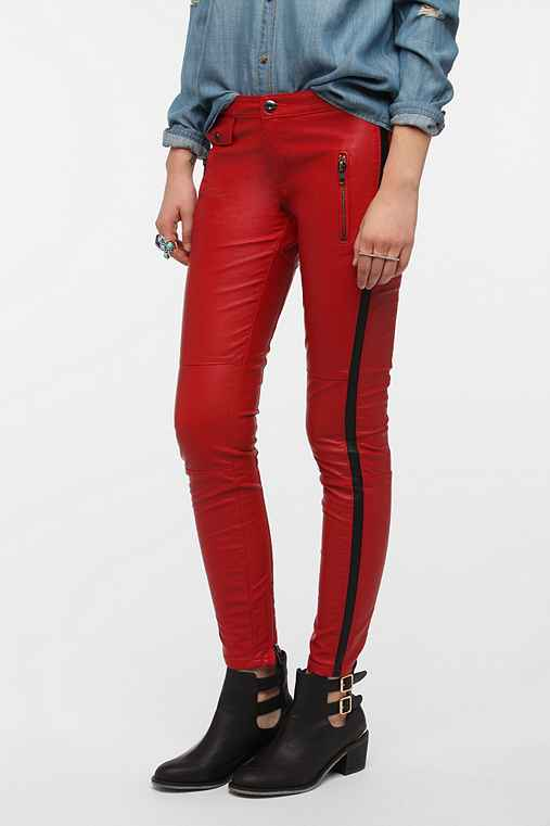 BLANKNYC Faux Leather Tuxedo Pant
