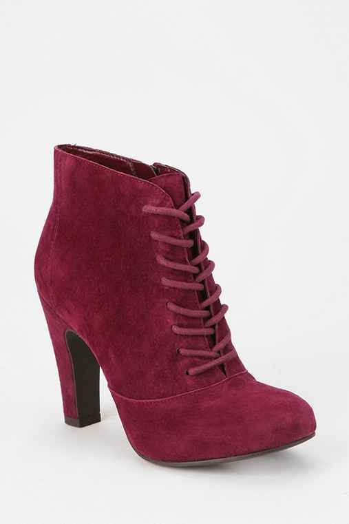 Seychelles Suede Lace-Up Ankle Boot