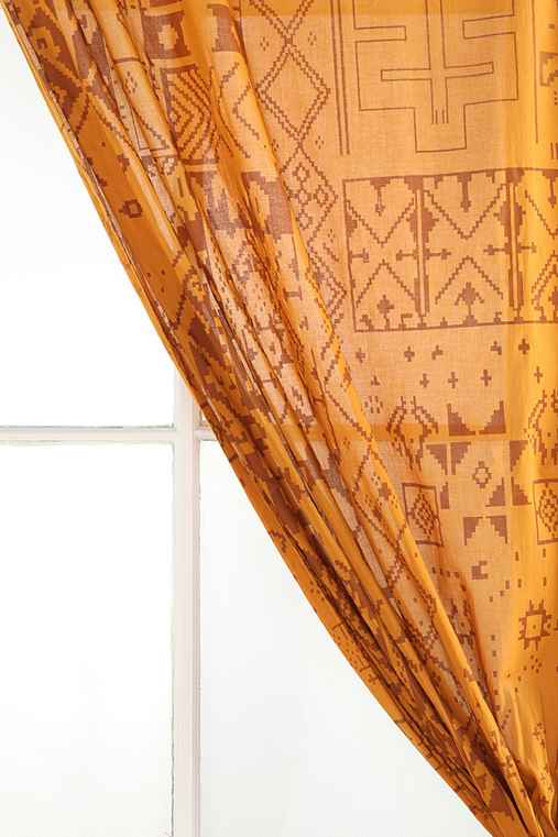 Magical Thinking Moroccan Sands Curtain