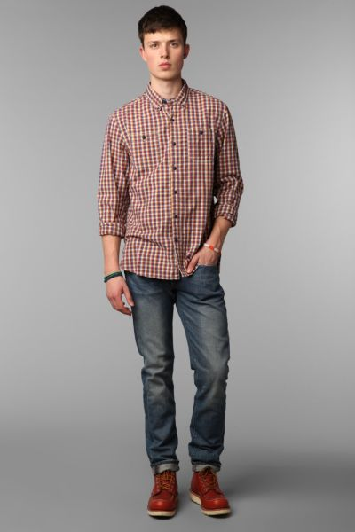 The Tourist by Burkman Bros Plaid Woven Shirt