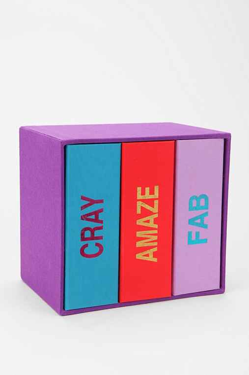Catchphrase Photo Album - Set Of 3