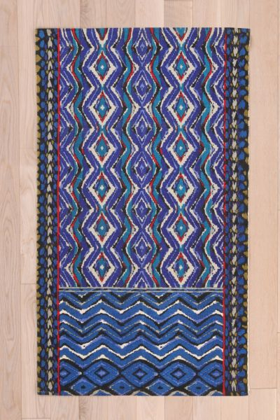 Magical Thinking Painted Kilim Rug