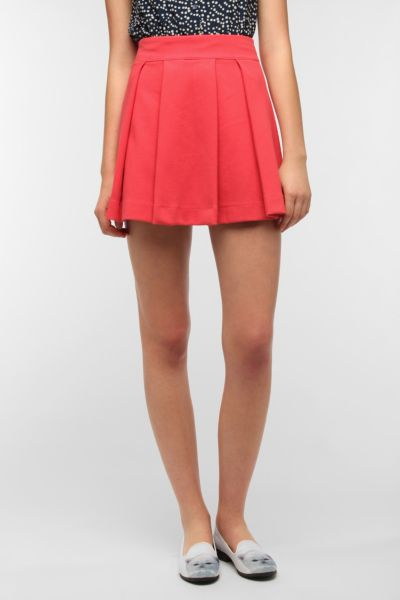 Cooperative Cherry Pleated Skirt
