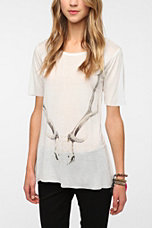 Workshop Antlers Tunic Tee