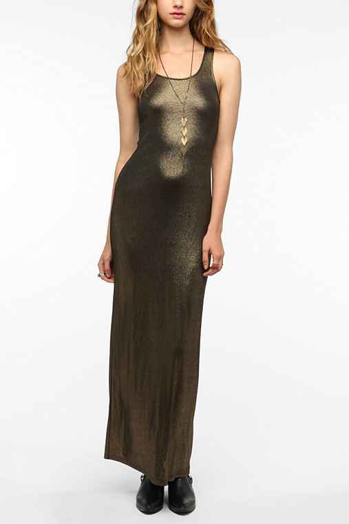 Out From Under Shimmer Maxi Dress