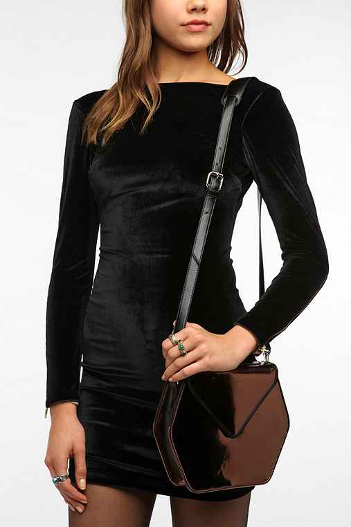 Deena & Ozzy Hexagon Crossbody Bag