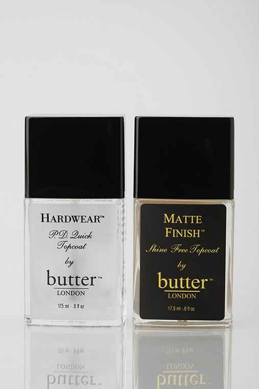 butter LONDON Topcoat Nail Polish Duo