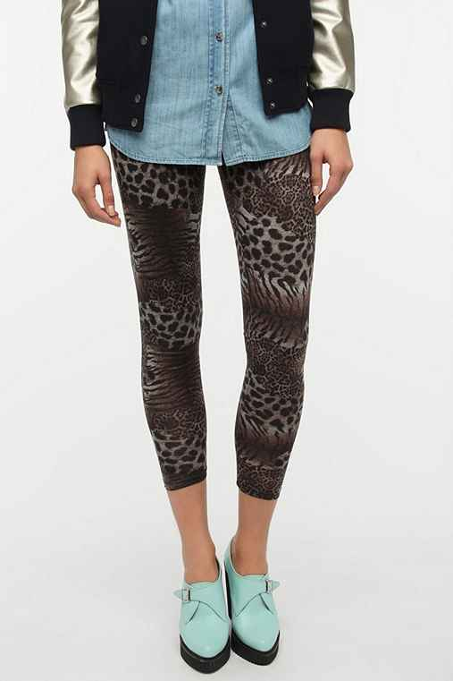 BDG Leopard-Tiger High-Rise Legging