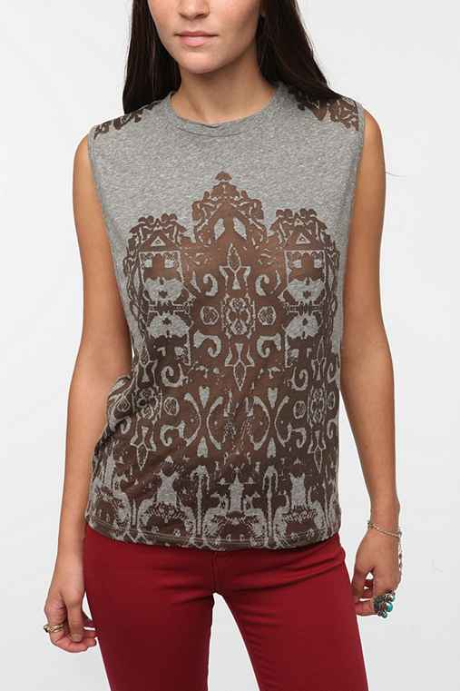 Title Unknown Imaginary Filigree Muscle Tee