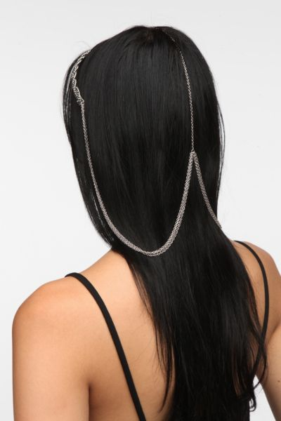 Draped Chain Headband