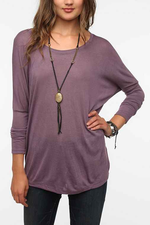 Daydreamer LA Long-Sleeve Oversized Dolman Tee