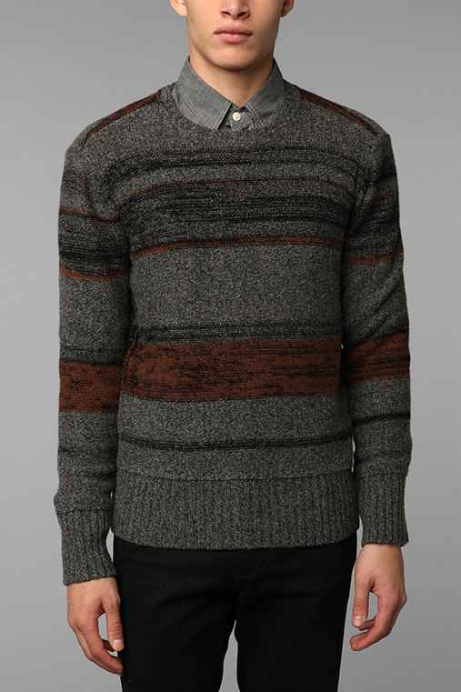 VBN Striped Fog Sweater