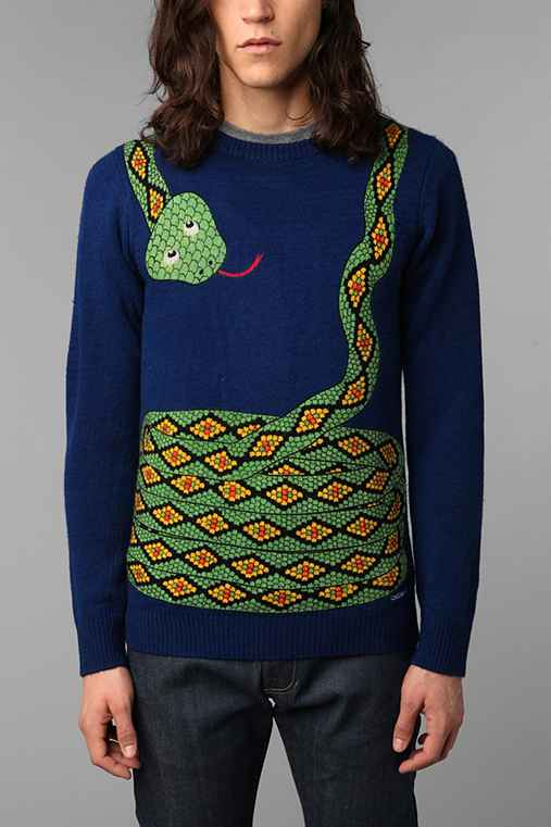 Toddland Snake Sweater