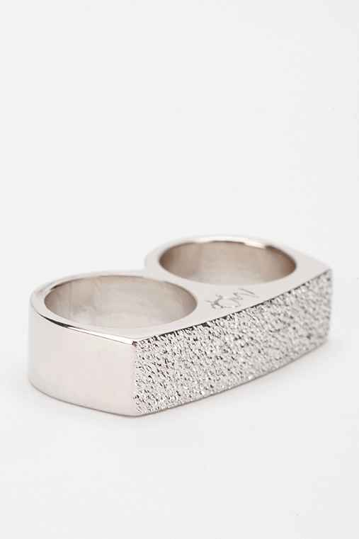 MariaFrancescaPepe Double-Finger Ring