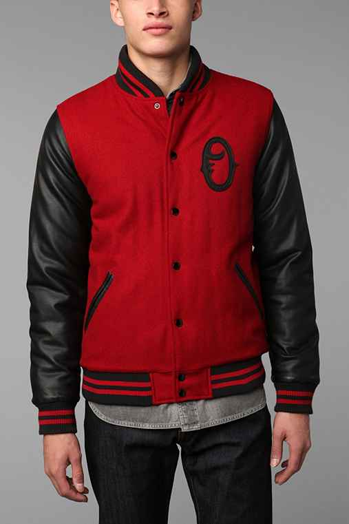 OBEY UO Exclusive Varsity Jacket
