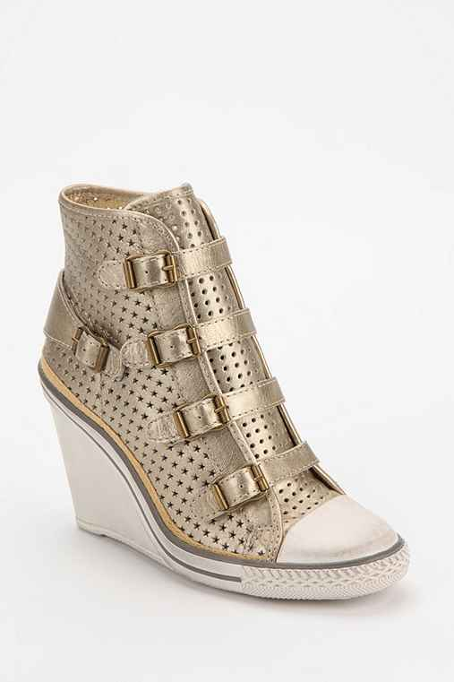 Ash Thelma Star-Cut High-Top Wedge-Sneaker