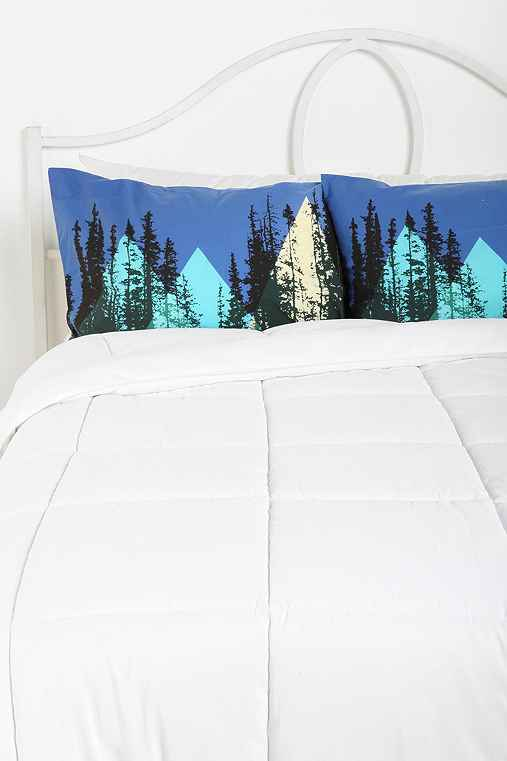 Midnight Forest Pillowcase - Set Of 2